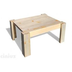 Nachttisch Tokyo - Holzplatte