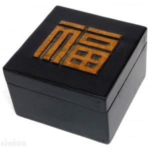 Vietnamesische Handschuhfach aus Speckstein (Stone Saponaria)