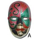 Maschera in metallo piccola
