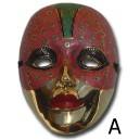 Maschera in metallo grande
