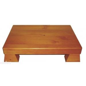 Nachttisch Nokido mit Holzplatte